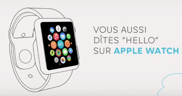 Hello Bank sur Apple Watch