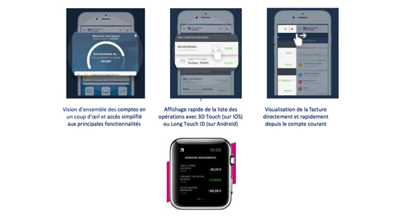 Boursorama Banque sort une nouvelle application mobile