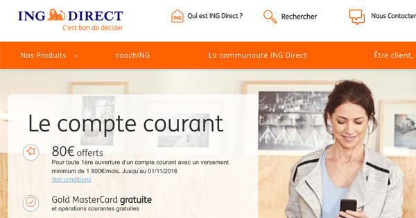 Compte joint ING Direct