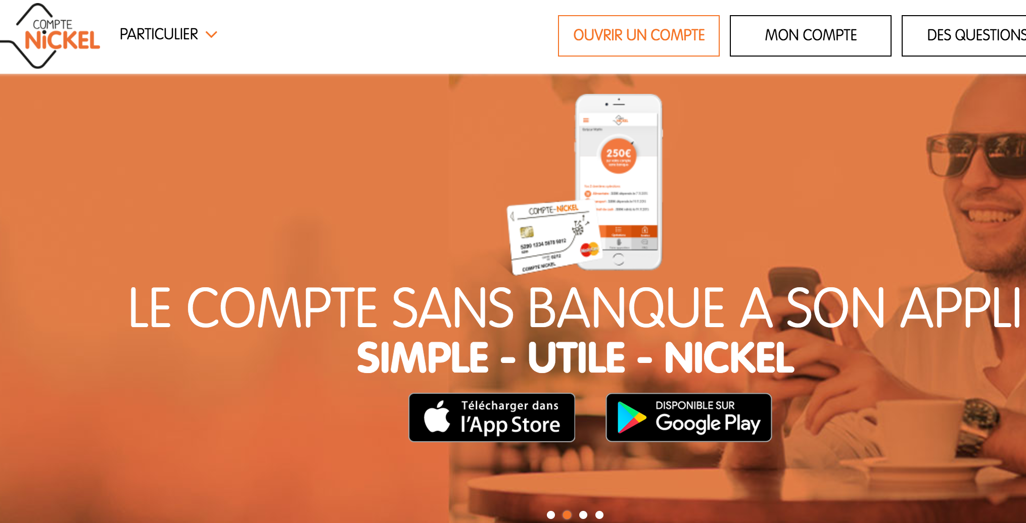 Compte Nickel couvert