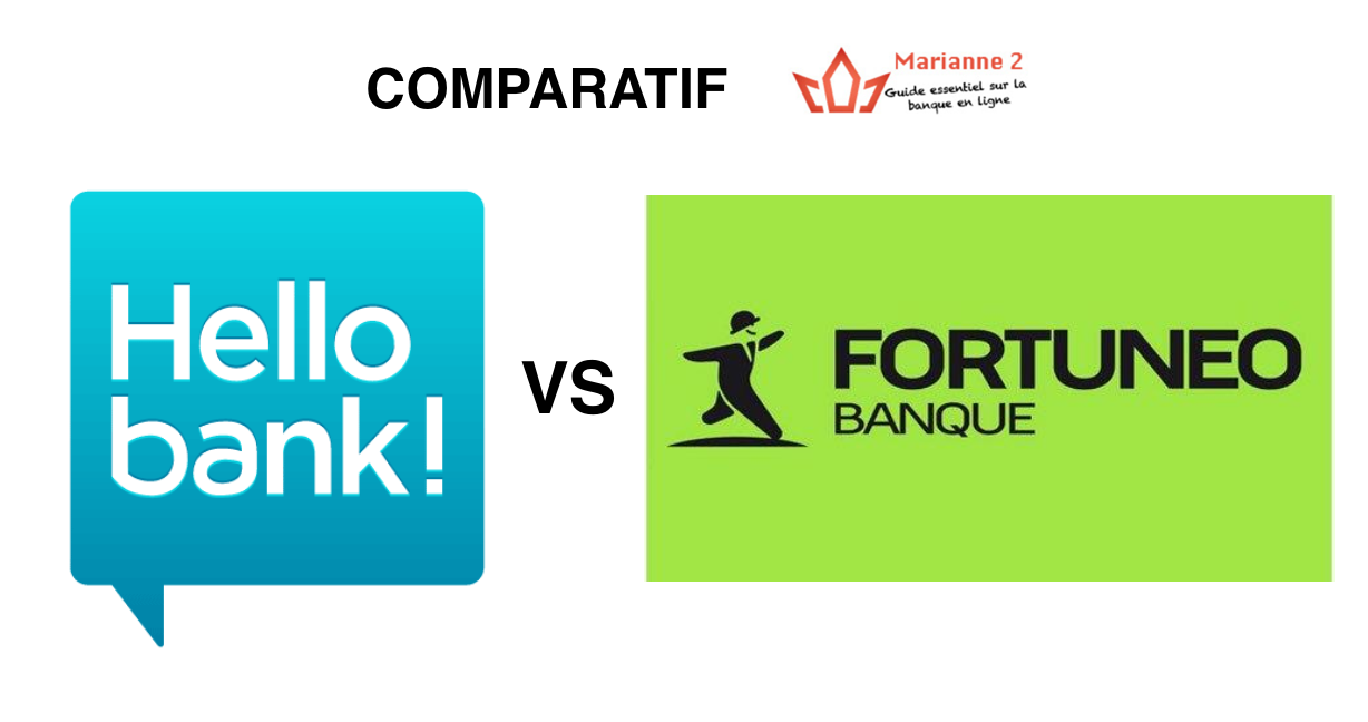 Comparatif Hello Bank - Fortuneo