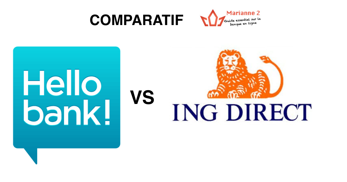 Comparatif Hello Bank ING Direct