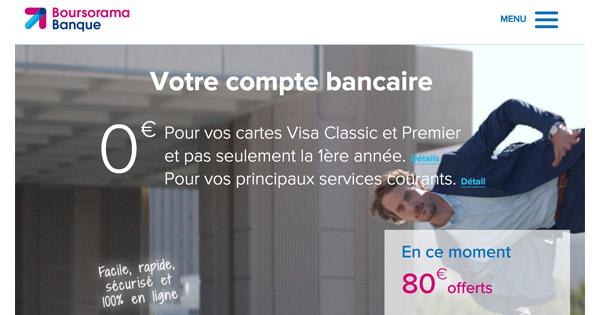 Boursorama Banque record clients