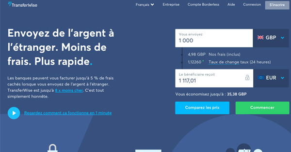Parrainage Transferwise
