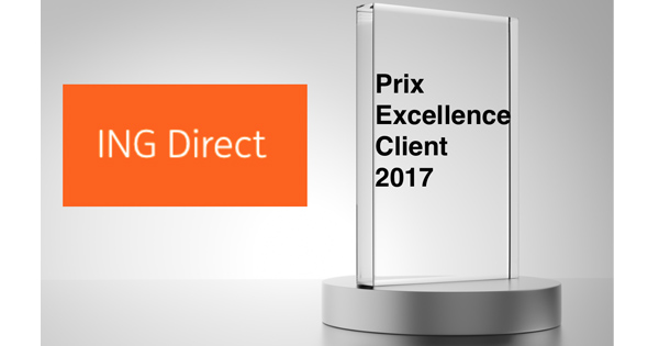 Prix Excellence Client ING Direct