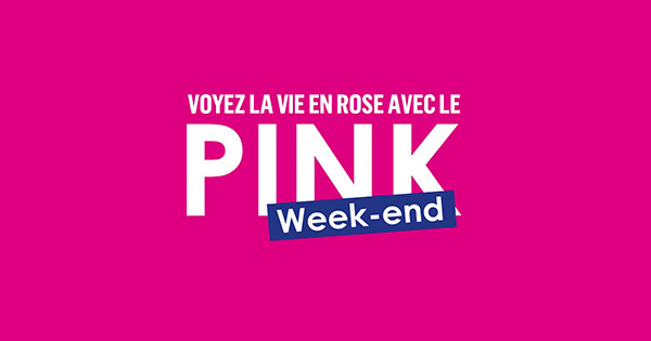 boursorama pink weekend