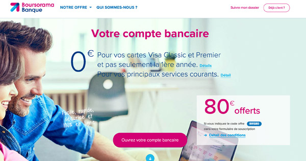Boursorama compte 1,2 million de clients fin septembre 2017