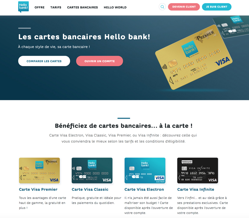 Site Hello bank