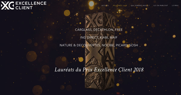 Prix Excellence Client ING Direct 2018