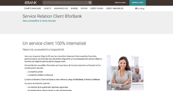 bforbank service client