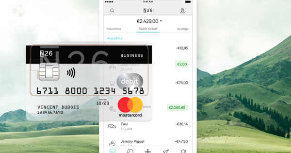 n26 business auto-entrepreneur