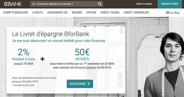 avis bforbank test de la banque en ligne cr dit agricole m2. Black Bedroom Furniture Sets. Home Design Ideas