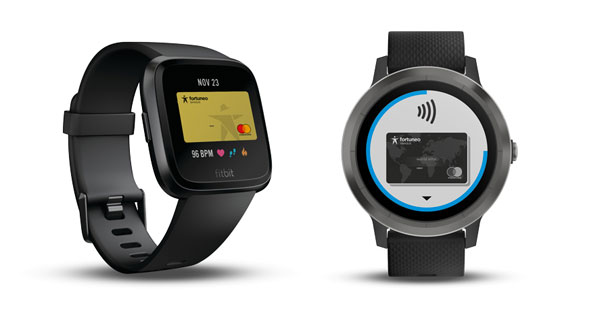 Fortuneo Fitbit Pay