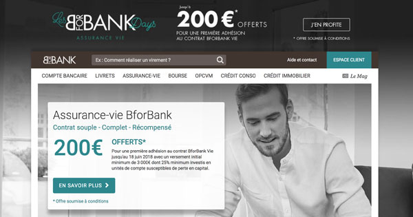 bforbank days assurance vie