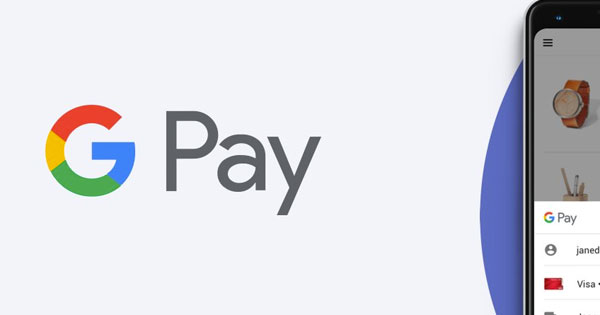 Smartphone Google Pay