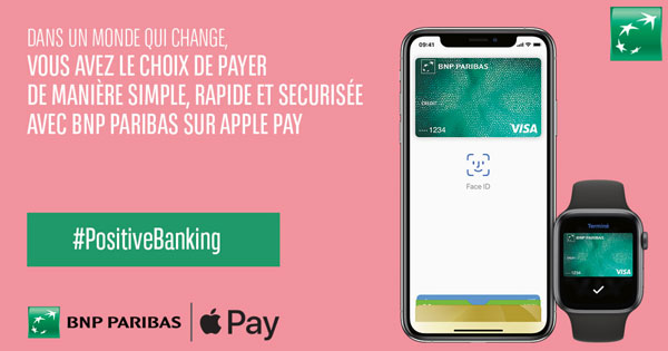 Officiel : BNP Paribas et Hello bank! acceptent Apple Pay
